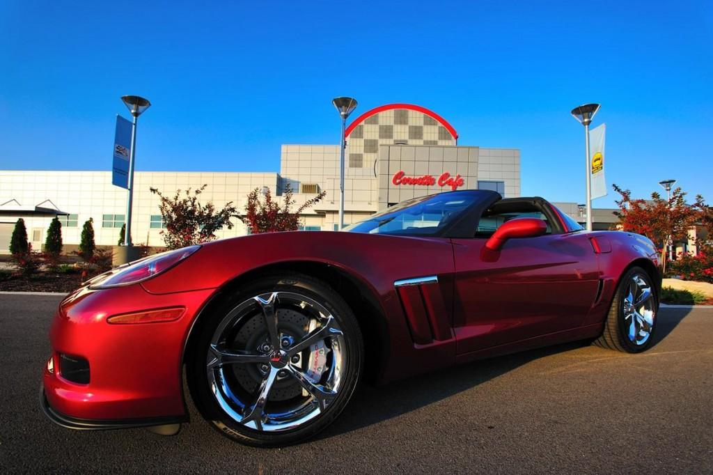 National Corvette Museum Red Corvette