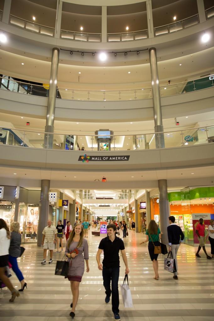 Rotunda shoppers