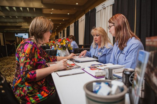 March 7, 2016 -- Winston-Salem, N.C. -- Travel South Domestic Showcase at the Embassy Suites Hotel. (Photo by Tricia Coyne)