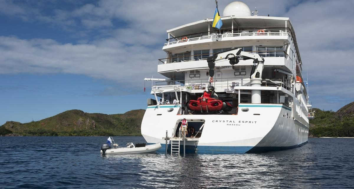 Crystal Esprit's Debut Redefines Luxury Cruising