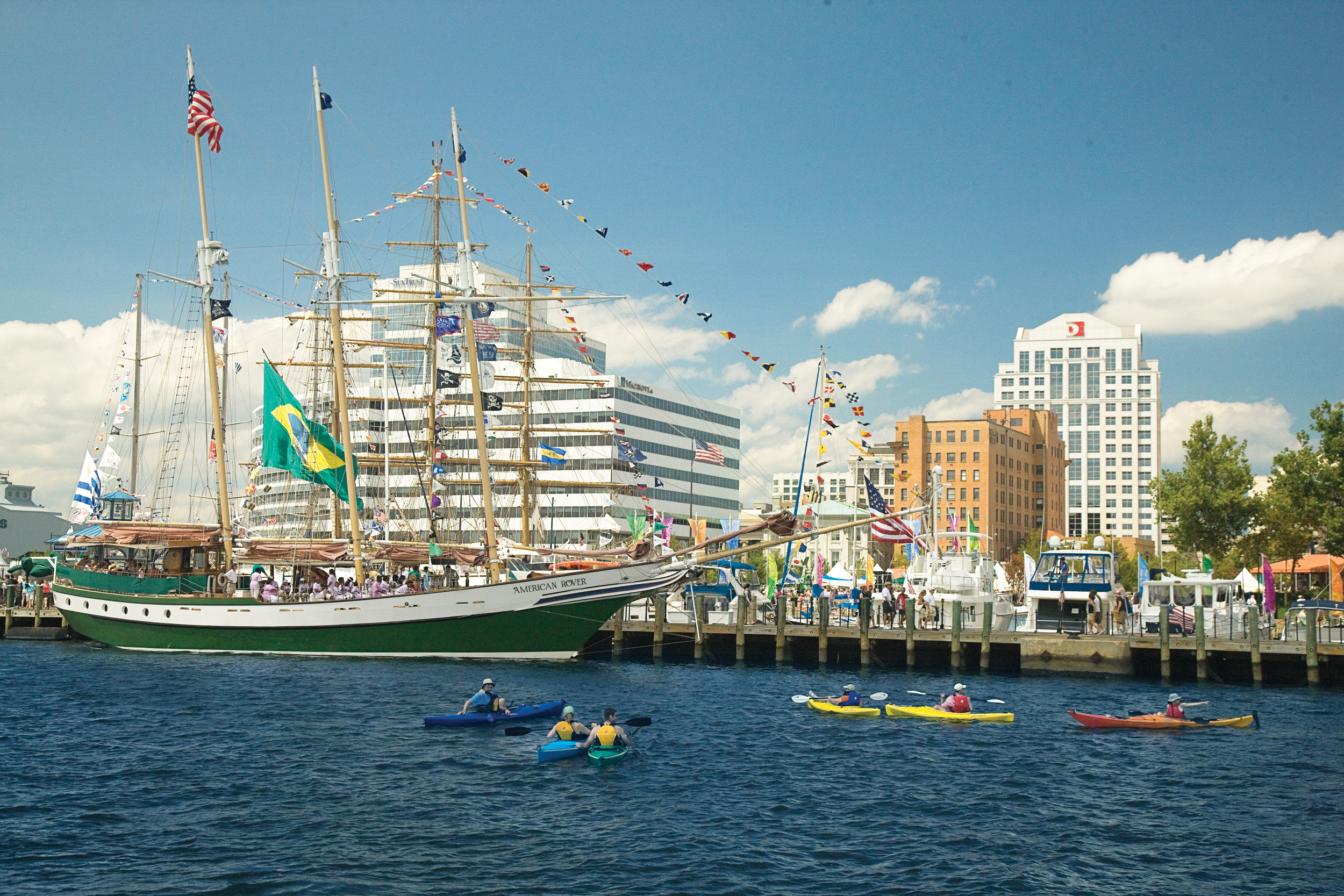 Norfolk Itinerary: Ships, Entertainment & Food at Norfolk's Harborfest