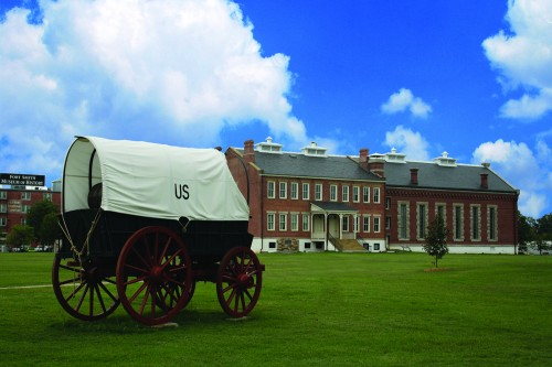 National Historic Site _ Behind Carriage