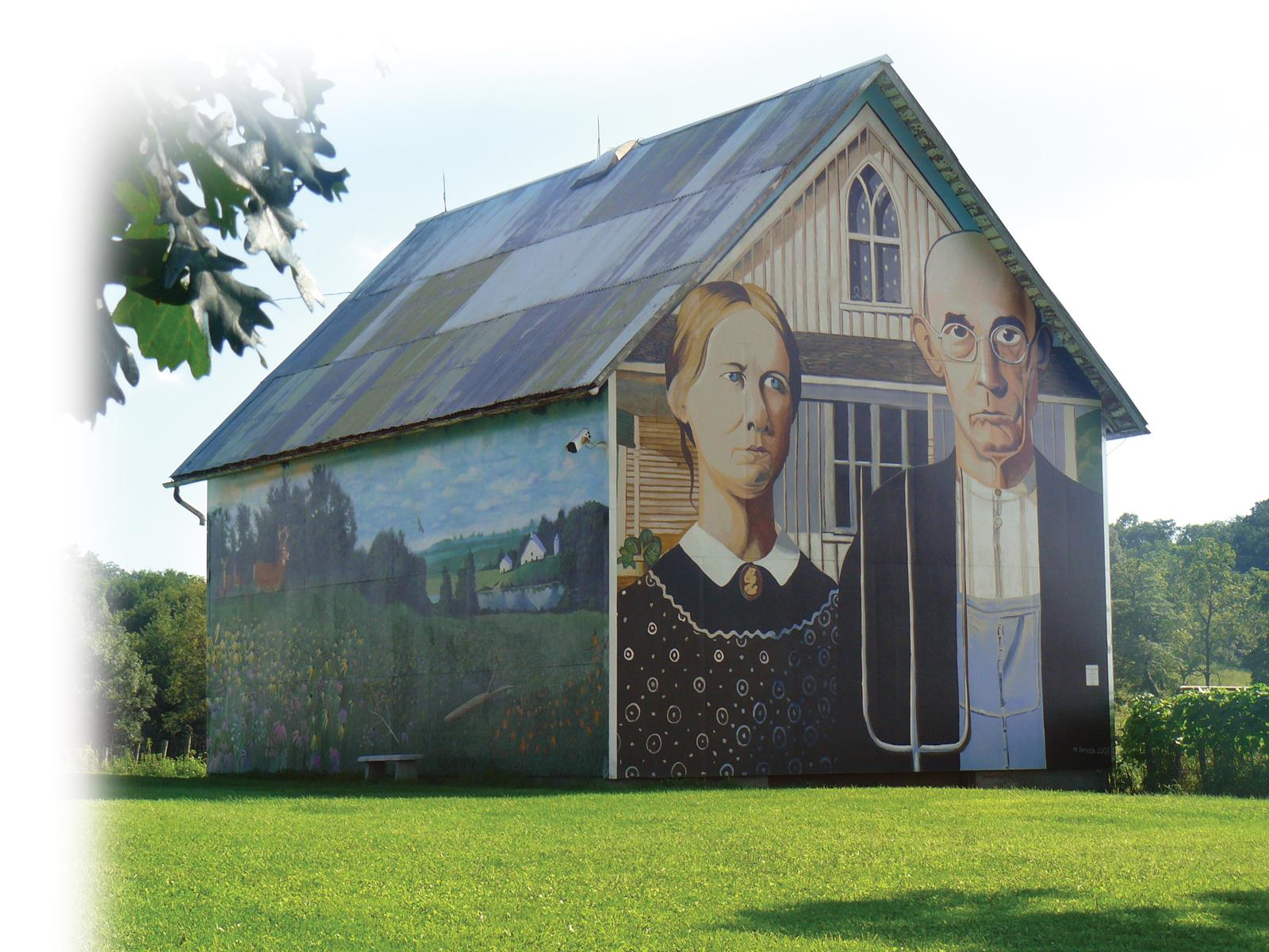 On the Trail of Grant Wood