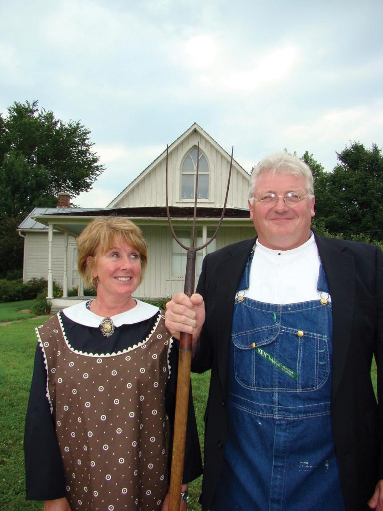 American Gothic House Center Visitors