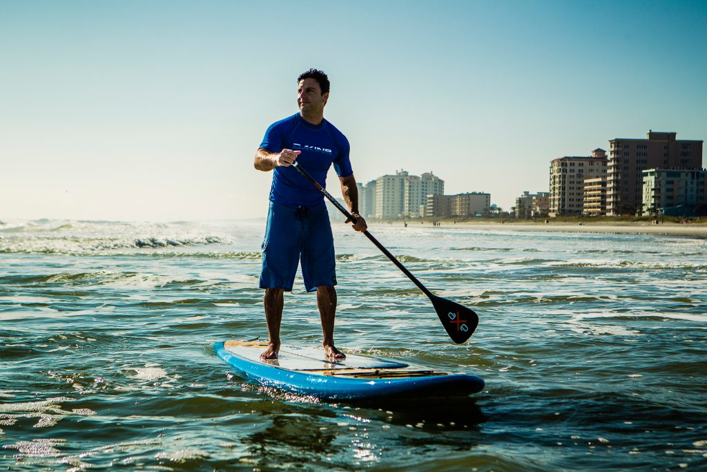 Paddleboarding-Jax Beach