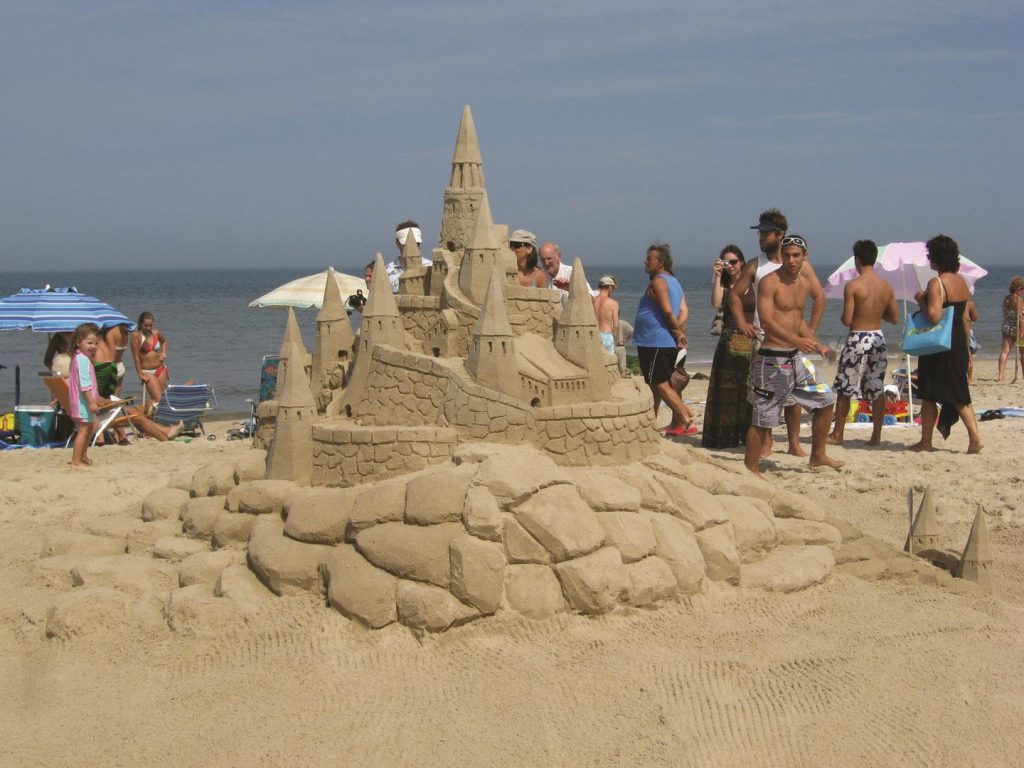 Rehoboth Beach Sandcastle Contest_credit Delaware Tourism Office