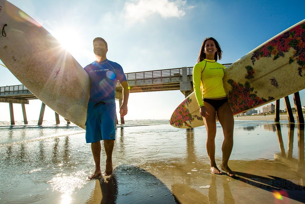 Surfing-Couple-Jax Beach-1
