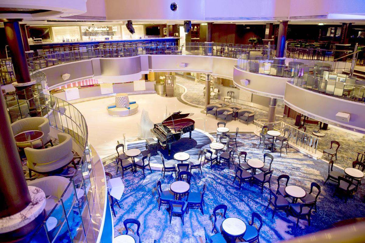 The Atrium - photo courtesy of Norwegian Cruise Line