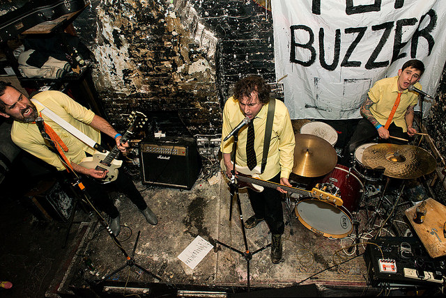 Top Buzzer performing at London's 12 Bar Club. Photo Credit: Rob Schofield/flickr
