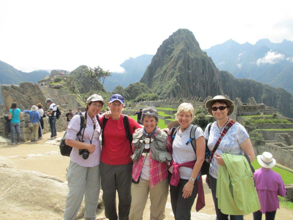2014 Peru-Machi Puchi 5 ladies Deb Glasheen