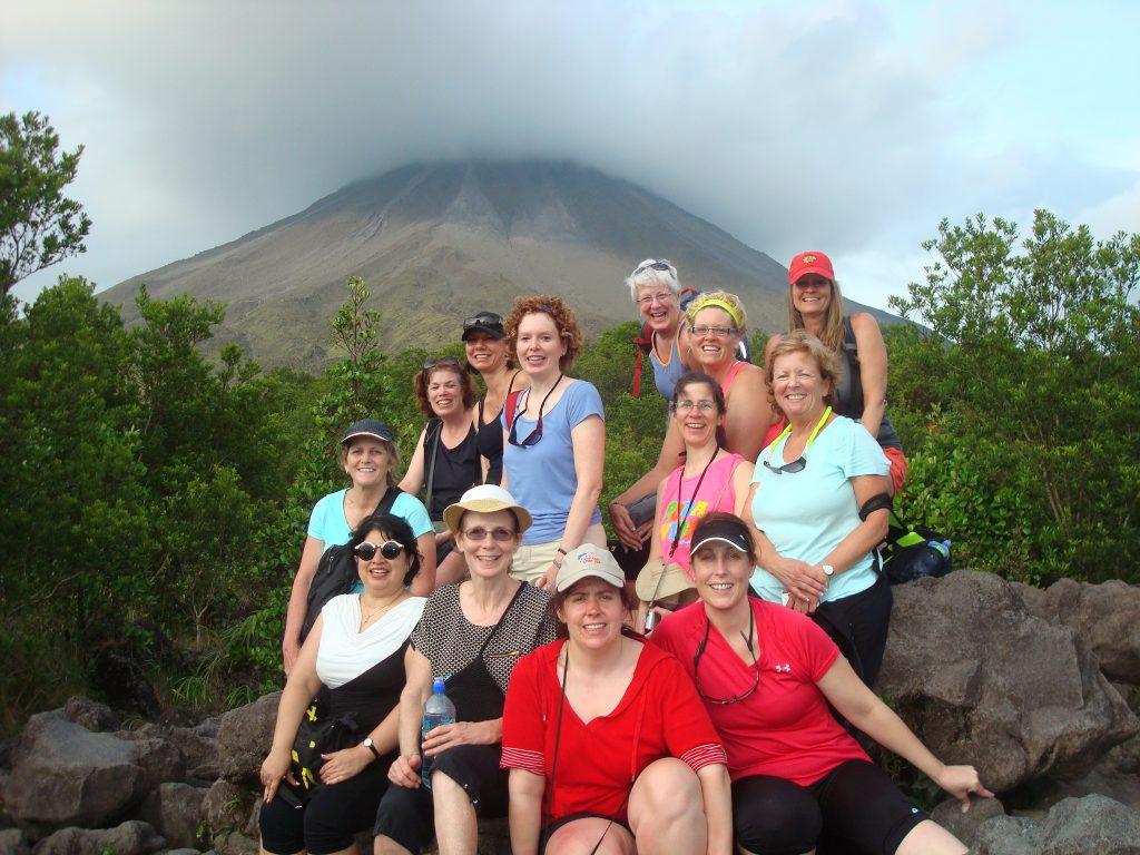 2015 Costa Rica-Arenal Volcano grp shot