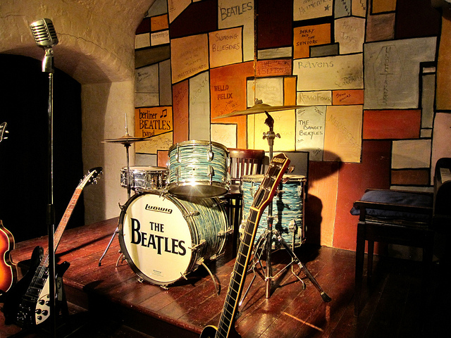 The Cavern Club stage. Photo Credit: Ronald Saunders/ flickr