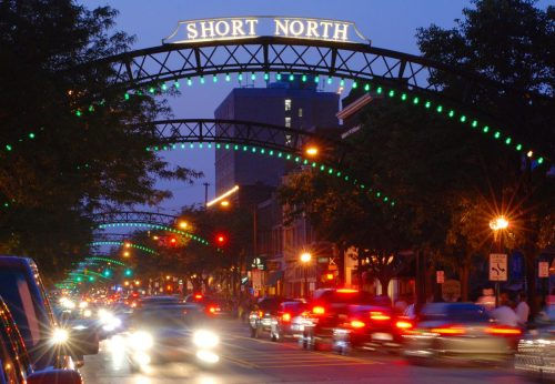 Short North Arts District arches