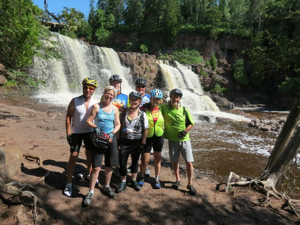 Bike Tour Vacation at Goosberry Falls