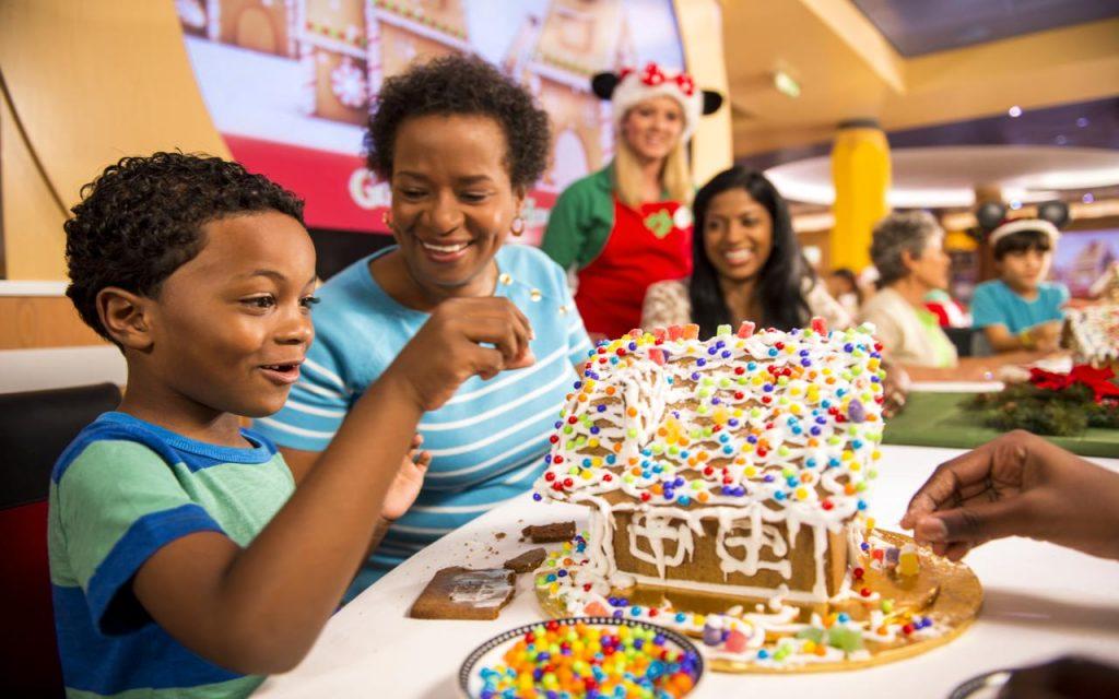 Disney Cruise Line Gingerbread House