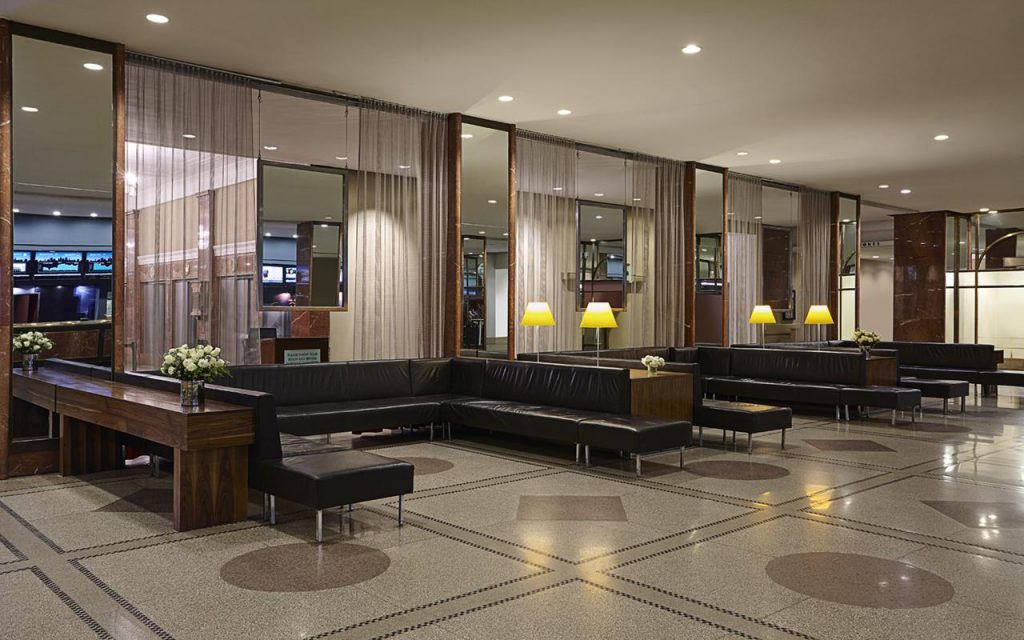 Checking in at new york s hotel pennsylvania for 24 hour salon new york