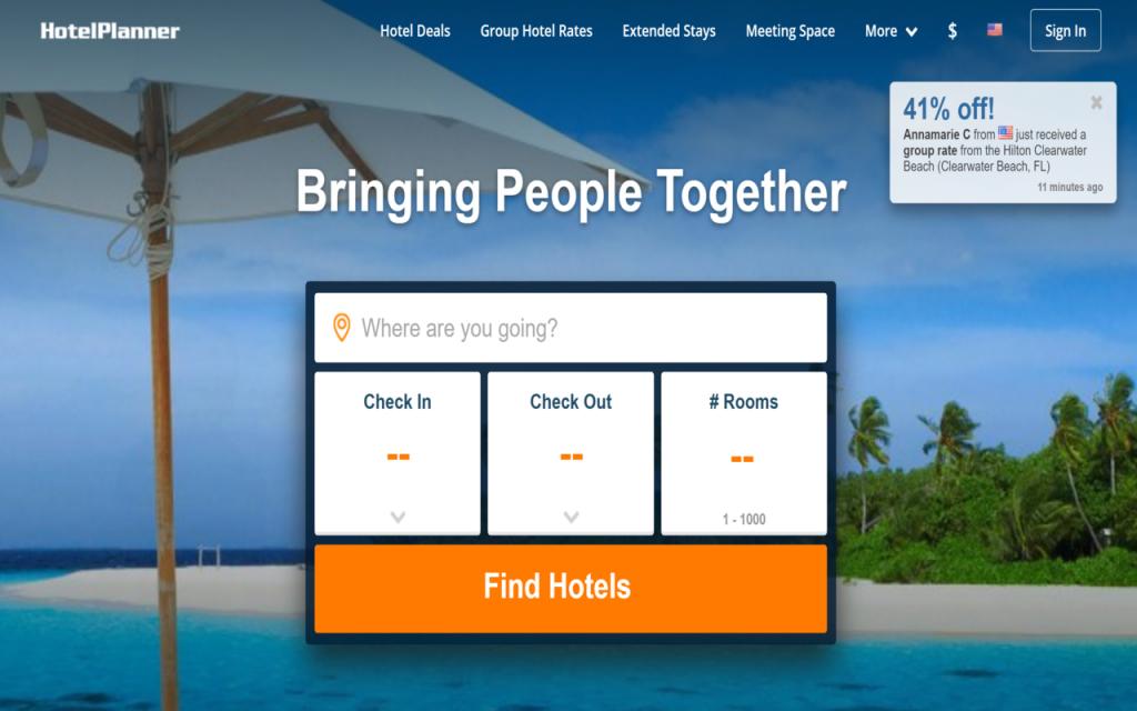 Hotelplanner Homepage
