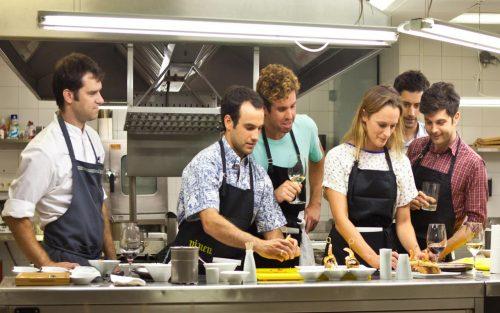 Basque culinary class