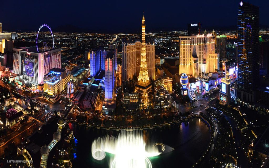 Las Vegas Strip. Brian Jones/Las Vegas News Bureau