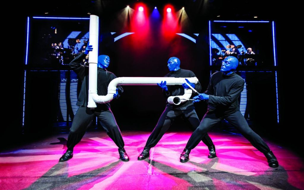 Blue Man Drumbone