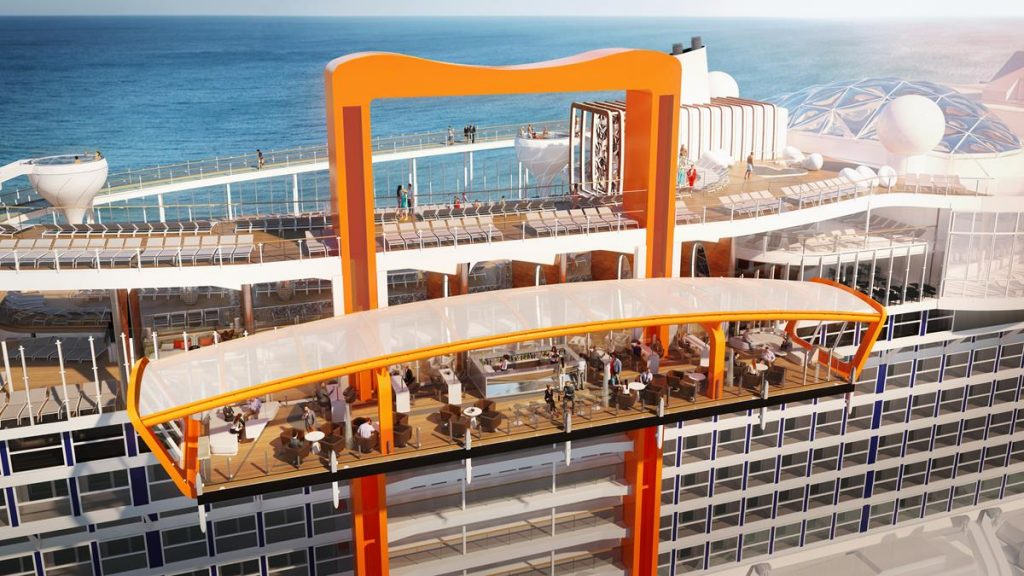 Celebrity Edge Iconic Magic Carpet