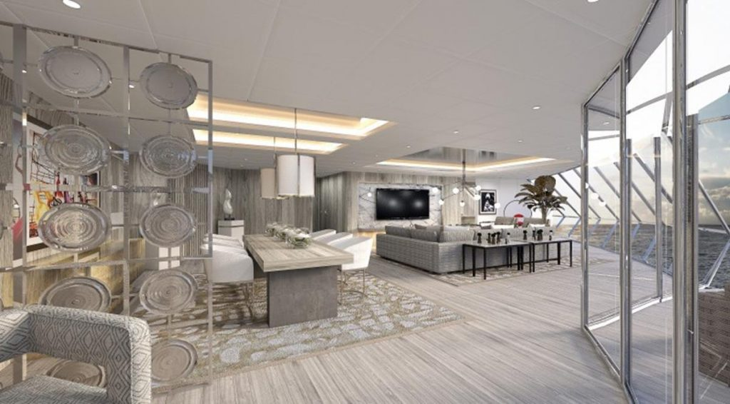 Celebrity Edge Iconic Suite