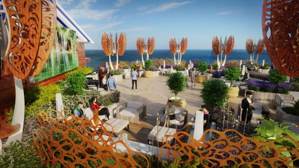Celebrity Edge Roof Top Garden