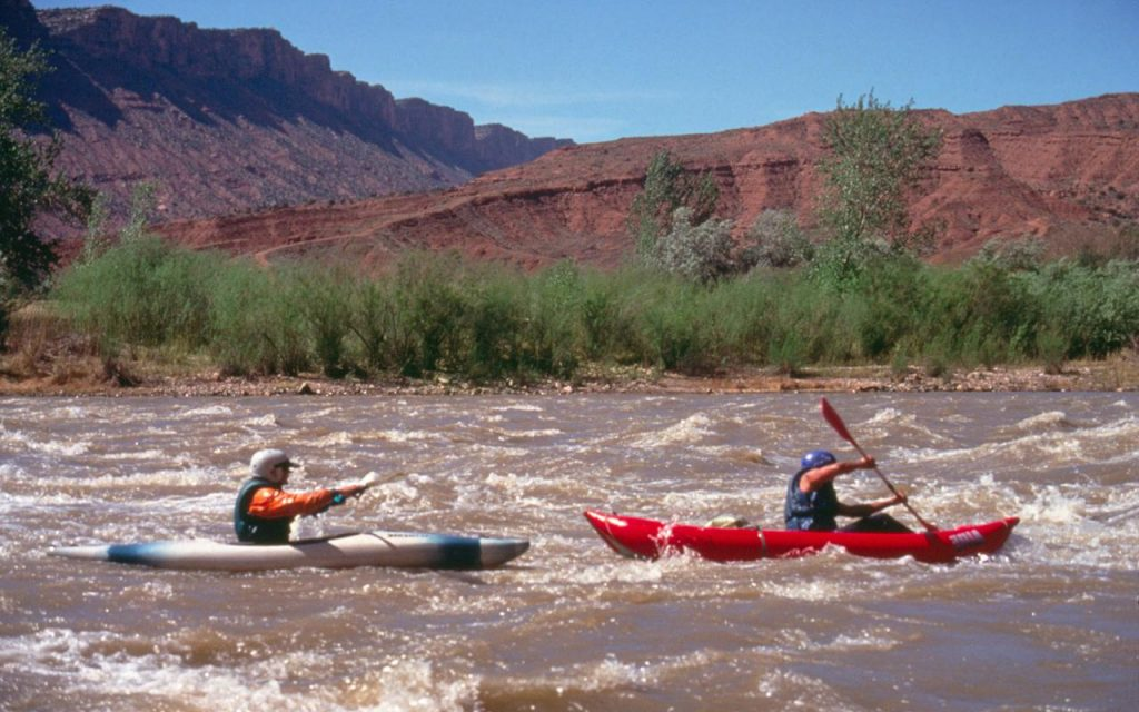 Moab Kayaking on the Colorado River