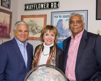 Mayflower Tours Promotes Nish Patel to President