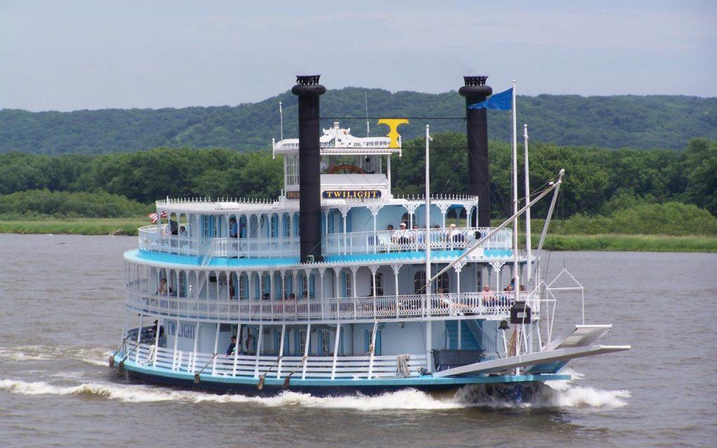 Riverboat Twilight