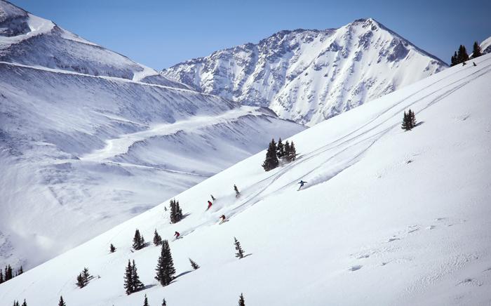 Little Burn at Copper Mountain - Mogul Skiing