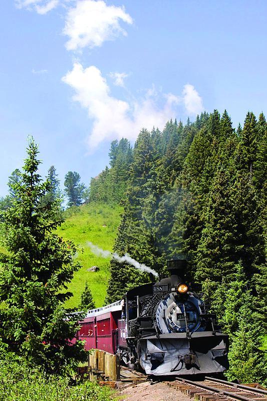 Train Rides in Colorado - Cumbres & Toltec