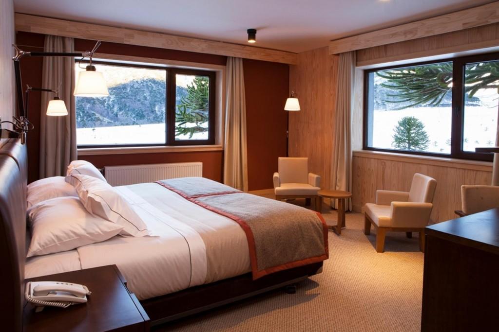Corralco resort