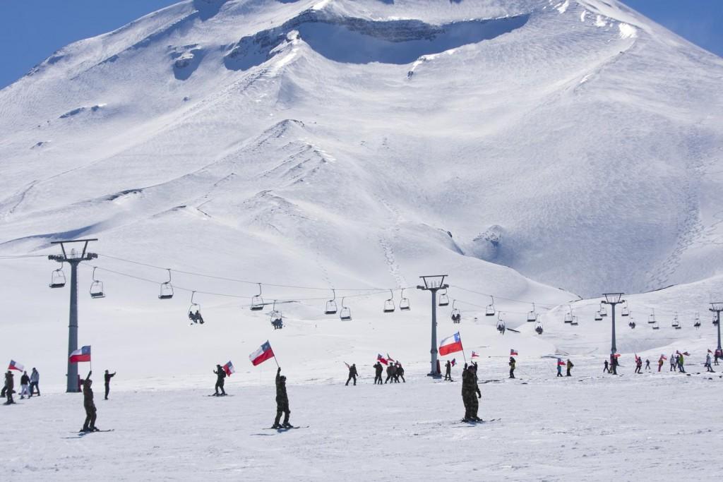 Corralco ski lift