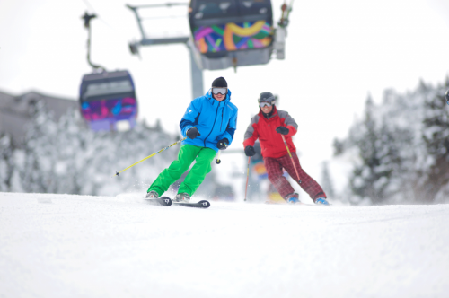 Killington skiiers