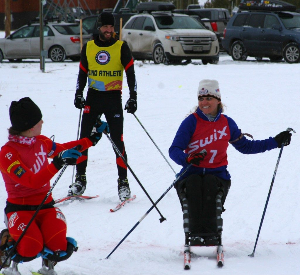 disabled athletes have access to more than 100 kilometers of groomed trails