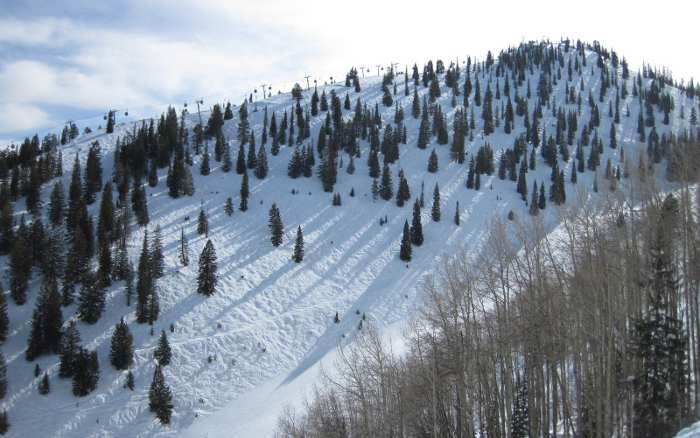 Bell Mountain at Aspen  - Mogul Skiing