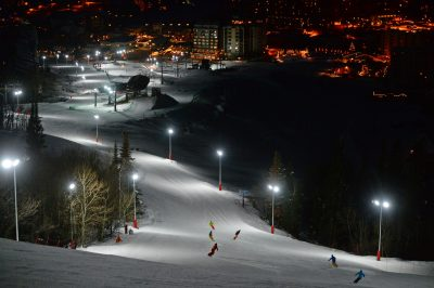 Check Out Seven Super Night Skiing Destinations