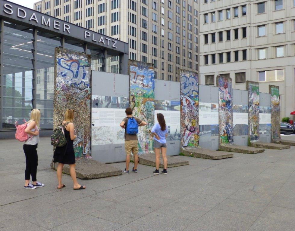 Berlin Wall Exhibit, Potsdamer Platz, Berlin