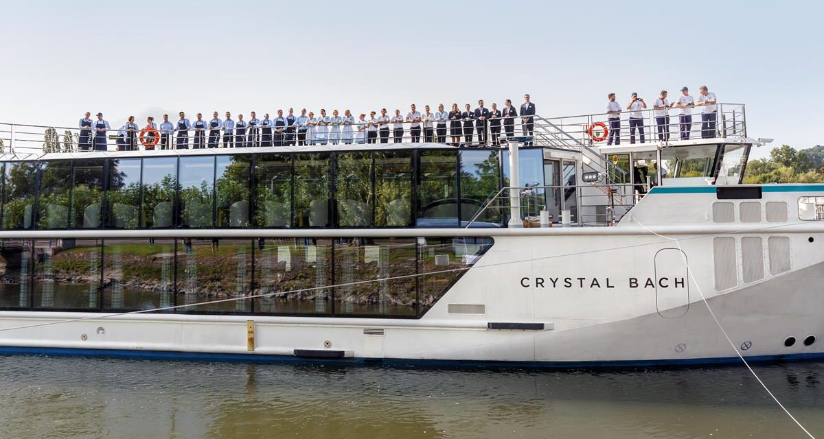 Crystal Rhine Class Ship Debuts