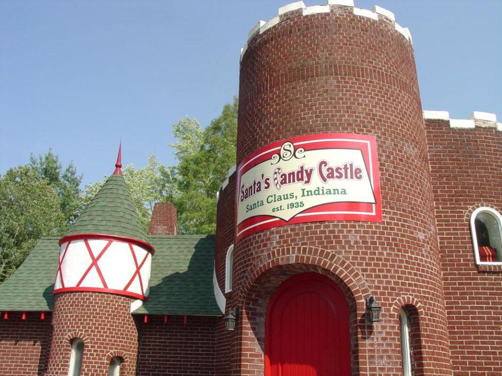 Santas Candy Castle