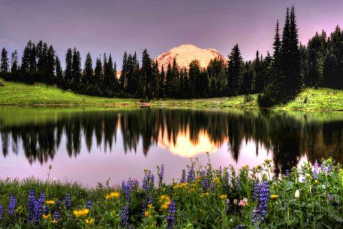 Summer Sunrise at Reflection Lake 300DPI Courtesy Deby Dixon_1196x800