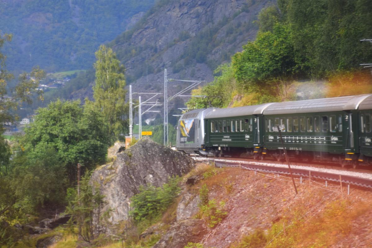 Norway's Flam Railway is the steepest standard-gauge railway in the world