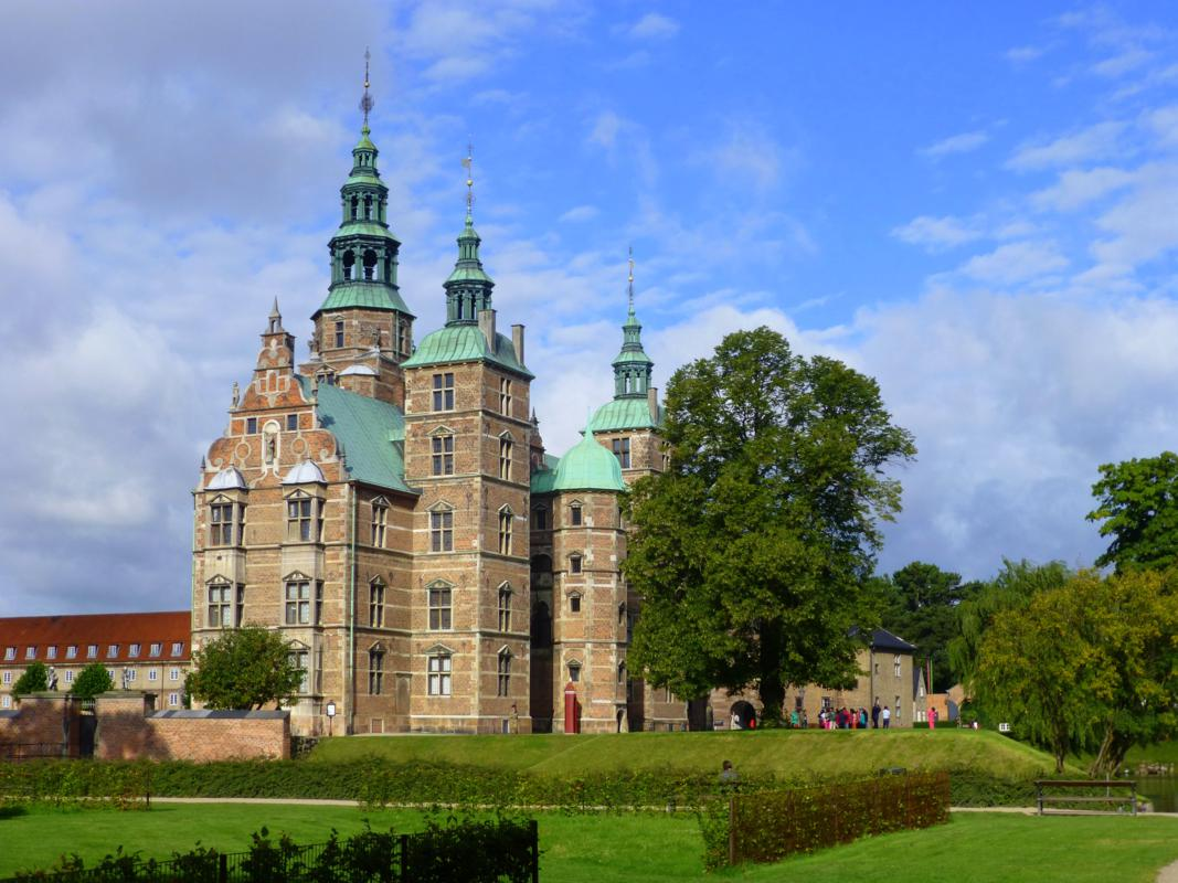 Copenhagen's Rosenborg Castle showcases royal treasures including Denmark's Crown Jewels.