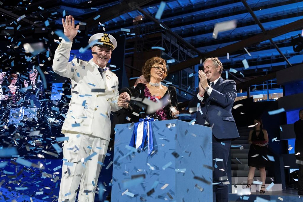 MSC Seaside Christening