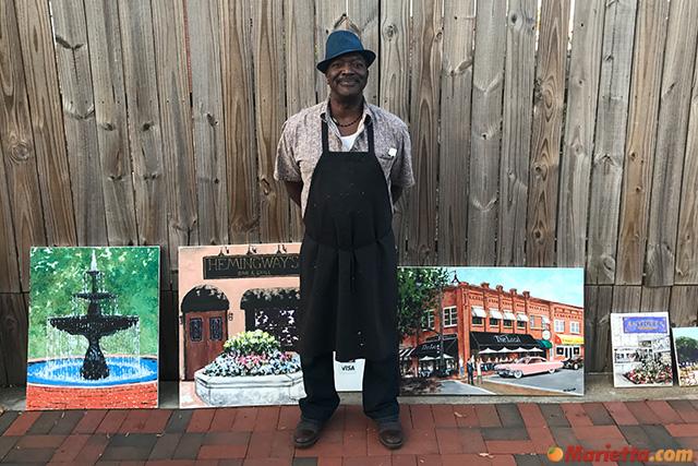 Marietta Square Art Walk vendor