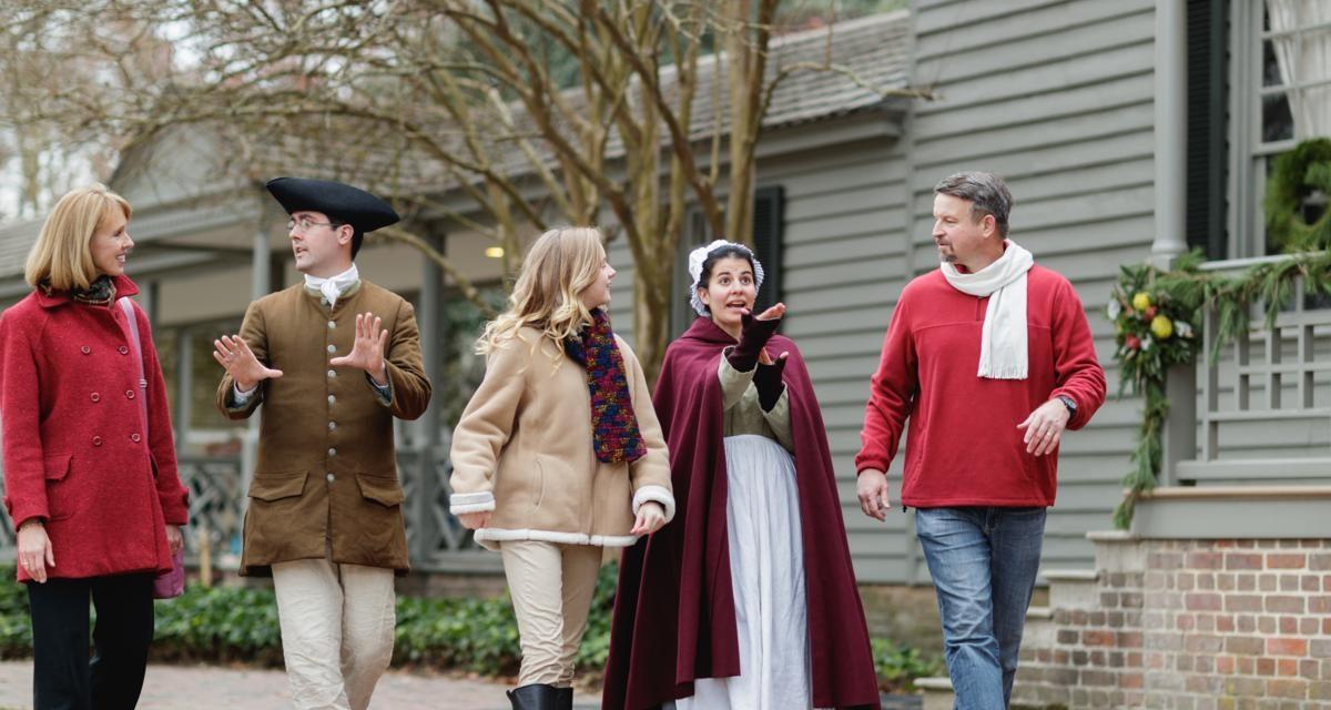 Virginia Itinerary: Destination: 18th Century