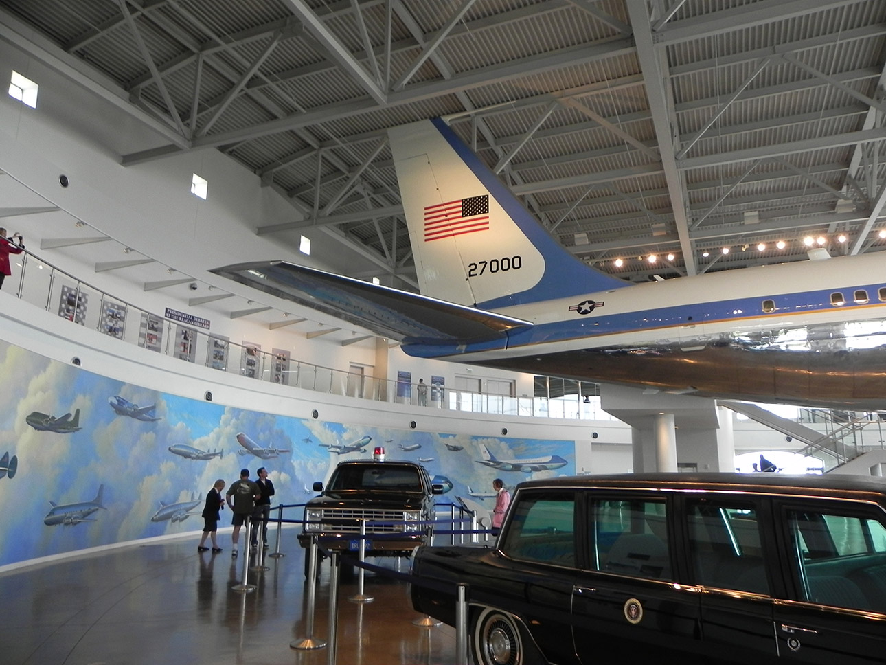 Traveling Through Time at 10 Presidential Libraries
