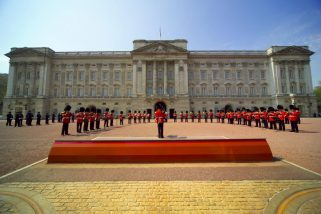 Buckingham Guard Change