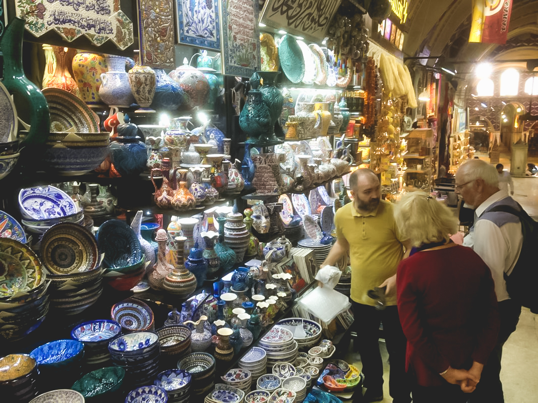 Turkish shops